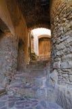 alleyway Oriolo La Calabria L'Italia Immagini Stock Libere da Diritti
