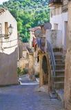 alleyway Oriolo La Calabria L'Italia Immagini Stock