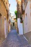 alleyway Oriolo La Calabria L'Italia Fotografia Stock