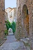 alleyway Oriolo La Calabria L'Italia Immagine Stock