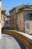 Alleyway. Orvieto. L'Umbria. L'Italia. Fotografia Stock Libera da Diritti