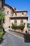 Alleyway. Orvieto. L'Umbria. L'Italia. Fotografie Stock