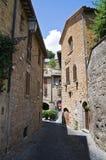 Alleyway. Orvieto. L'Umbria. L'Italia. Immagine Stock Libera da Diritti