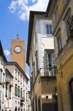 Alleyway. Orvieto. L'Umbria. L'Italia. Fotografia Stock