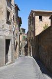 Alleyway. Orvieto. L'Umbria. L'Italia. Fotografie Stock Libere da Diritti