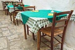 alleyway Ostuni La Puglia L'Italia Immagini Stock