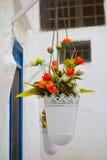 alleyway Ostuni La Puglia L'Italia Fotografia Stock Libera da Diritti