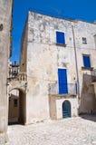 Alleyway. Otranto. La Puglia. L'Italia. Fotografia Stock