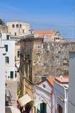Alleyway. Otranto. La Puglia. L'Italia. Fotografie Stock Libere da Diritti