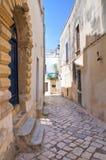 Alleyway. Otranto. La Puglia. L'Italia. Immagine Stock