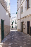 Alleyway. Otranto. Puglia. Italy. Stock Photos