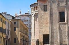 Alleyway. Parma. Emilia-Romagna. Italy. Stock Photo