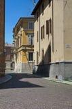 Alleyway. Parma. L'Emilia Romagna. L'Italia. Immagini Stock