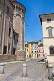 Alleyway. Parma. L'Emilia Romagna. L'Italia. Immagine Stock Libera da Diritti