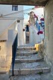 Alleyway. Peschici. La Puglia. L'Italia. Immagini Stock Libere da Diritti