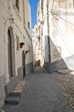 Alleyway. Peschici. Puglia. Italy. Royalty Free Stock Images