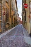 alleyway Piacenza L'Emilia Romagna L'Italia Fotografia Stock Libera da Diritti