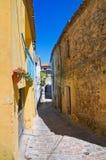 alleyway Pietragalla Basilicata Italia fotos de archivo libres de regalías