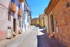 Alleyway. Pietragalla. Basilicata. Italy. Stock Photo