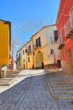 alleyway Pietragalla La Basilicata L'Italia Immagine Stock