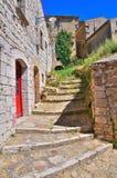 alleyway Pietragalla La Basilicata L'Italia Immagine Stock Libera da Diritti