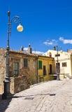 alleyway Pietragalla La Basilicata L'Italia Fotografie Stock