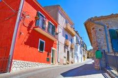 alleyway Pietragalla La Basilicata L'Italia Immagini Stock Libere da Diritti
