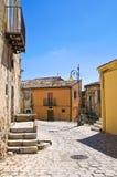 alleyway Pietragalla La Basilicata L'Italia Fotografia Stock