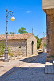 alleyway Pietragalla La Basilicata L'Italia Fotografie Stock Libere da Diritti