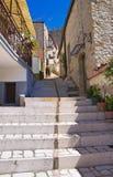 Alleyway. Pietramontecorvino. La Puglia. L'Italia. Immagine Stock Libera da Diritti