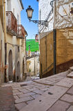 Alleyway. Pietramontecorvino. Puglia. Italy. Royalty Free Stock Photos