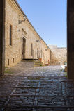 Alleyway. Pietramontecorvino. Puglia. Italy. Royalty Free Stock Photo