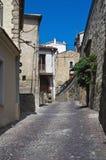 Alleyway. Pietrapertosa. La Basilicata. L'Italia. Immagini Stock