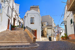 Alleyway. Pisticci. Basilicata. Italy. Royalty Free Stock Image