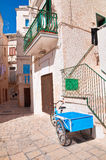 Alleyway. Polignano a mare. Puglia. Italy Stock Photo