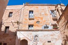 alleyway Polignano una giumenta La Puglia L'Italia Immagine Stock