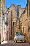 Alleyway. Presicce. Puglia. Italy. Stock Image