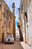 Alleyway. Presicce. Puglia. Italy. Stock Photo
