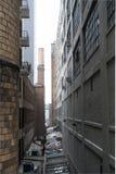 Alleyway przesmyk Obrazy Stock