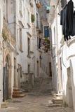 alleyway Putignano La Puglia L'Italia Immagine Stock