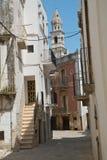 alleyway Putignano Puglia Italia imágenes de archivo libres de regalías