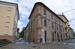 Alleyway. Rivergaro. L'Emilia Romagna. L'Italia. Immagini Stock