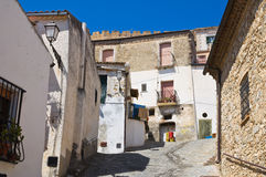 Alleyway. Rocca Imperiale. Calabria. Italy. Stock Images