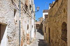 Alleyway. Rocca Imperiale. Calabria. Italy. Stock Photo