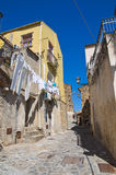 Alleyway. Rocca Imperiale. Calabria. Italy. Stock Image