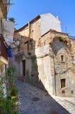 alleyway Rocca Imperiale La Calabria L'Italia Immagini Stock