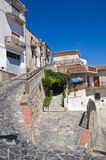 alleyway Rocca Imperiale La Calabria L'Italia Fotografia Stock
