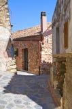 alleyway Rocca Imperiale La Calabria L'Italia Fotografie Stock
