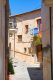 alleyway Rocca Imperiale La Calabria L'Italia Fotografia Stock Libera da Diritti