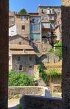 Alleyway. Ronciglione. Lazio. Italy. Royalty Free Stock Image